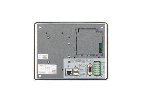 <p>Panel pc td750 rear view </p>
